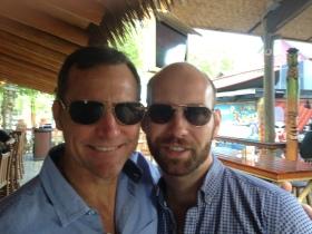 2013 Ormond Beach Tiki Bar Blake and Tommy
